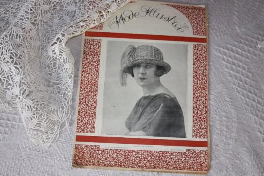 """Revue ancienne du 02/04/1921  """"La Mode Illustrée"""""""