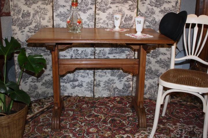 Table bistrot merisier la po sie du pass - La table du bistrot limoges ...