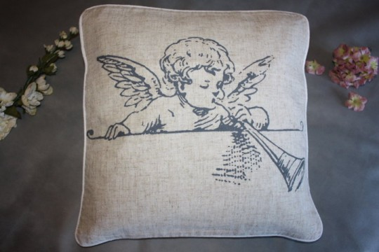 Coussin (style shabby)
