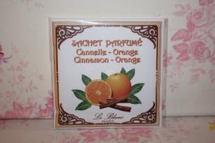 """Sachet parfumé """" CANNELLE ORANGE """" Parfum d'ambiance"""