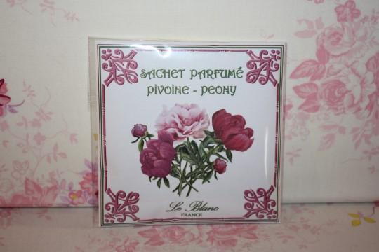 """Sachet parfumé """"PIVOINE"""""""