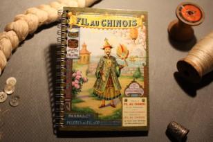 """Carnet de notes """"Fil au Chinois"""""""