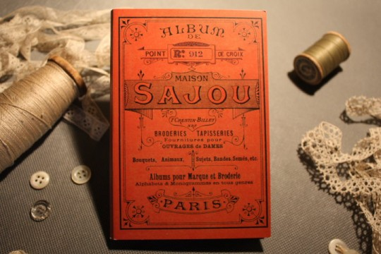 Sajou : Album de broderie n°912